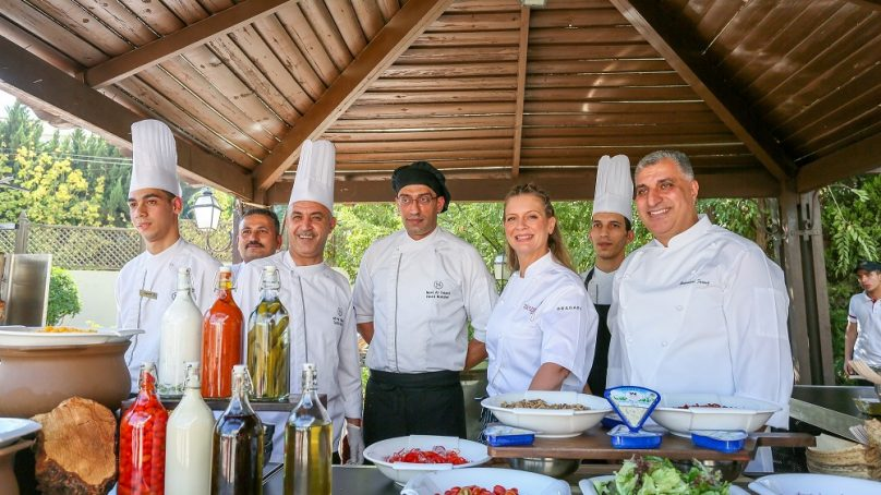 Marriott International showcased the power of cuisine for a cause in Jordan