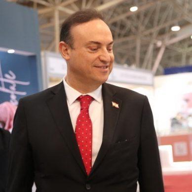 Lebanese ambassador visits HORECA Riyadh