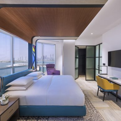 Andaz debuted in Dubai with the opening of Andaz Dubai The Palm