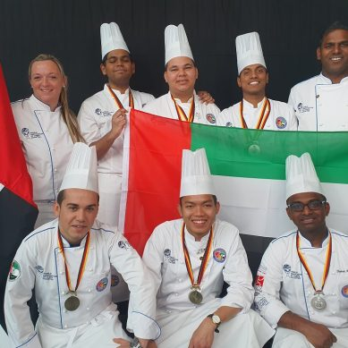 The Emirates Culinary Guild brings home 45 medals from the Culinary Olympics 2020