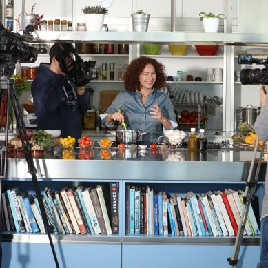Aline Kamakian debuts a cooking video channel on YouTube