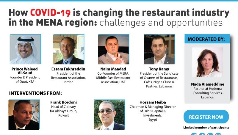 Webinar: How COVID-19 is changing the restaurant industry in the MENA region