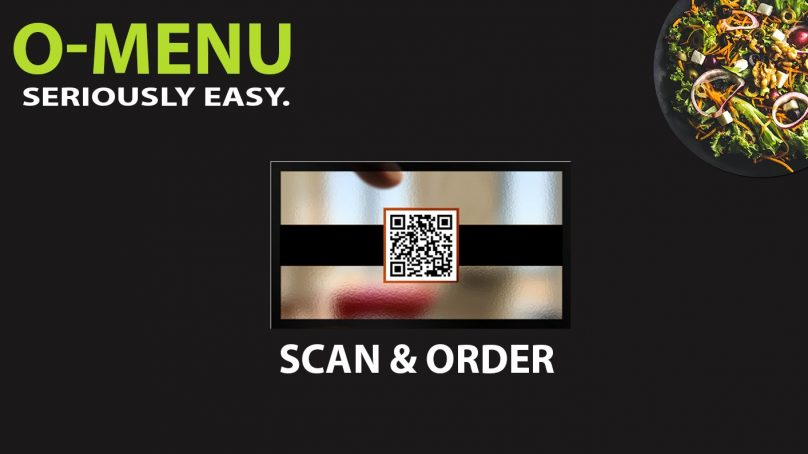 Omega Software's take on digital and contactless menus