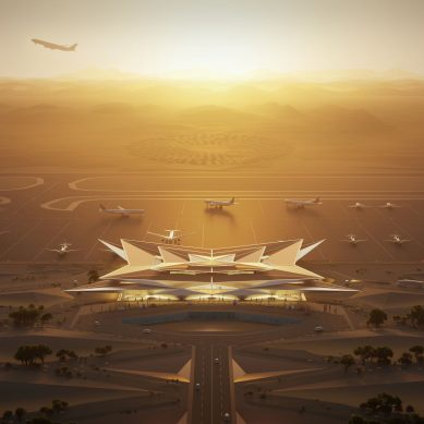 Foster +Partners to design AMAALA's mirage inspired airport