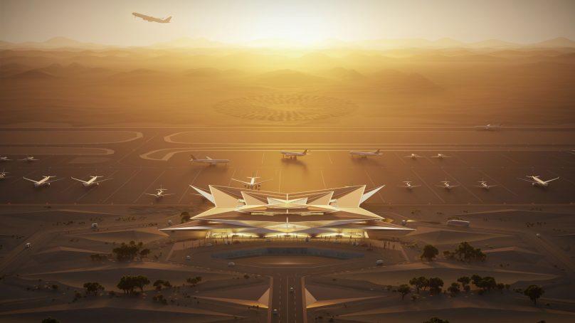 Foster +Partners to design AMAALA's mirage inspired airport