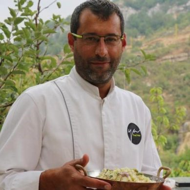 A dose of brût with Chef Youssef Akiki