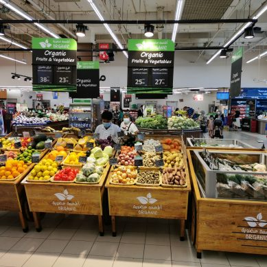 Carrefour to source more organic fruits and vegetables for its customers