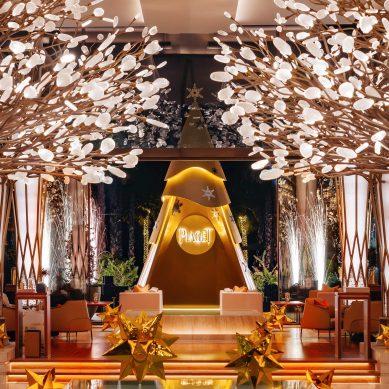 Piaget graces Mandarin Oriental Jumeira, Dubai with a unique Christmas tree