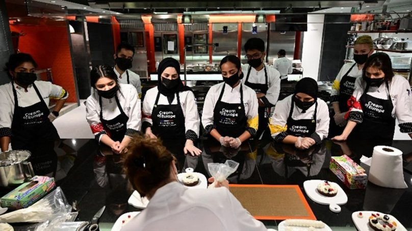 Pastry chefs of the future honored by the French Dairy Board