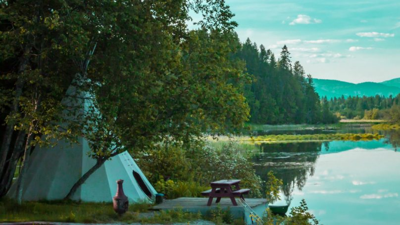 The golden market of glamping