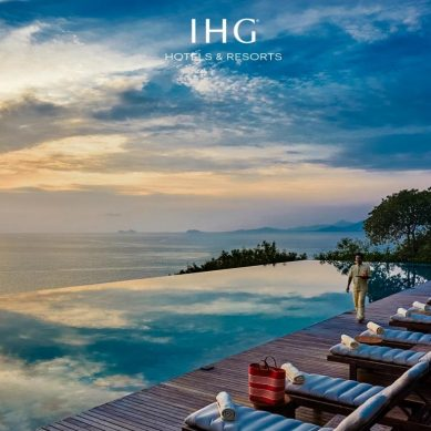 IHG Hotels & Resorts revamps its brand identity