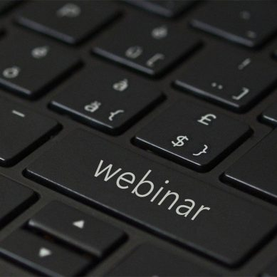 Webinars and seminars this month
