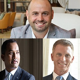 Three new senior appointments at Jumeirah Group