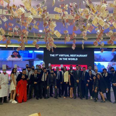 Students at Lebanon's La Sagesse University create the world's first virtual restaurant
