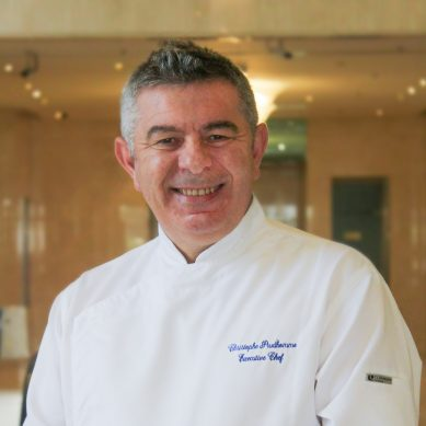 What's cooking with chef Christophe Prud'homme?
