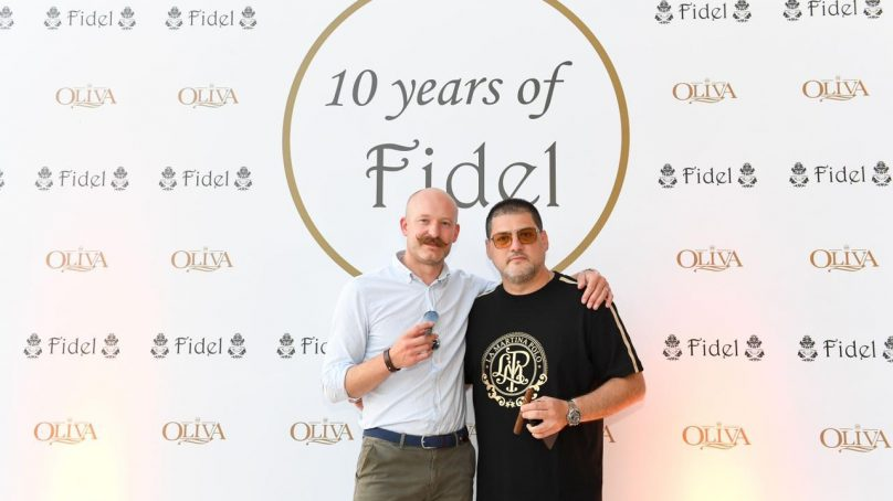 Fidel Cigars celebrates its 10-year anniversary