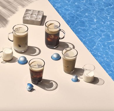 Nespresso launches tropical iced coffee flavors