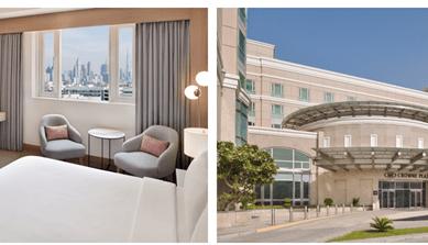 Five-star Crowne Plaza Dubai Jumeirah is welcoming guests