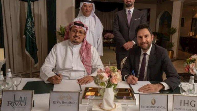 IHG signs second hotel in KSA with RIVA Development Company