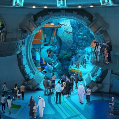 World's largest aquarium coming to SeaWorld Abu Dhabi on Yas Island