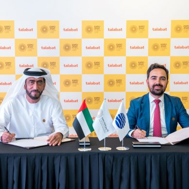 talabat is the official food delivery provider for Expo 2020 Dubai