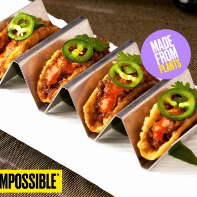 Impossible Foods debuts in the region through a partnership with Bidfood