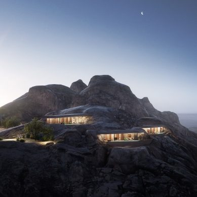 The Red Sea Development Company unveils plans for its Desert Rock mountain resort