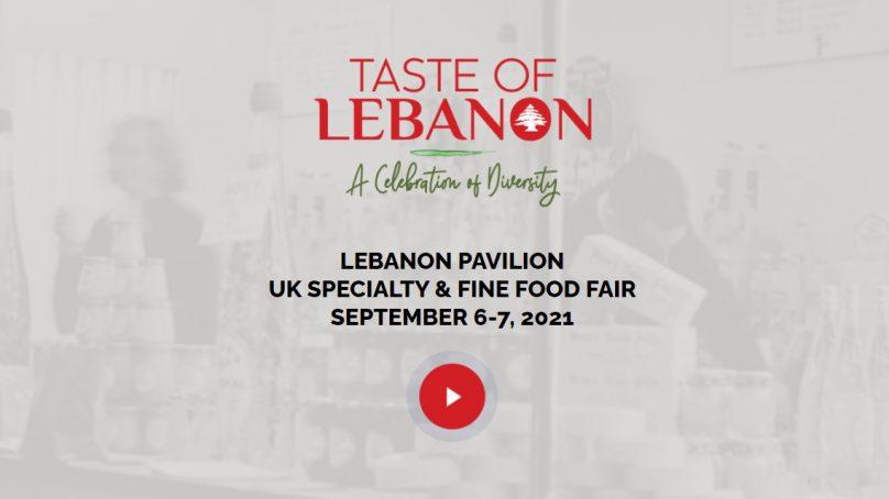 Lebanon participates in the Speciality & Fine Food Fair in London